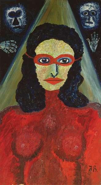 The Medium, 1939 (oil on canvas)