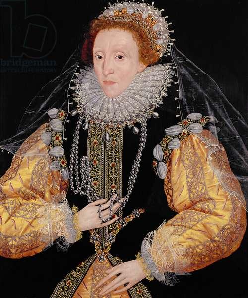 Portrait of Queen Elizabeth I, c.1586 (oil on panel)