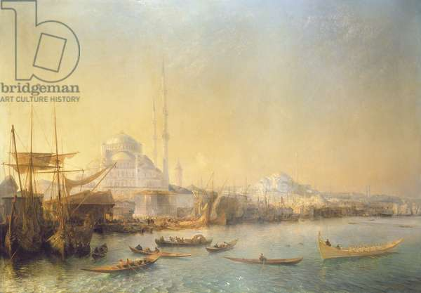 An Extensive View over Constantinople and the Golden Horn, 1840 (oil on canvas)