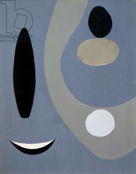Grey Forms on Grey, 1935 (oil on canvas)