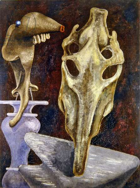 Mutual Congratulations, 1937 (oil on canvas)