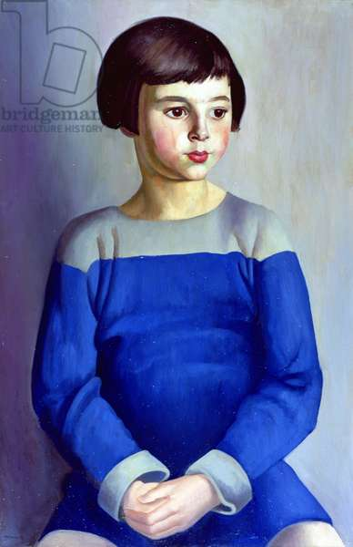 Child in Blue, 1918 (oil on canvas)