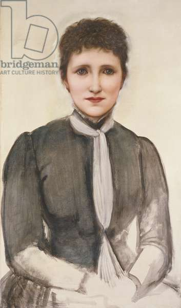 Portrait of Helen Mary Gaskell, 1893 (oil on canvas)