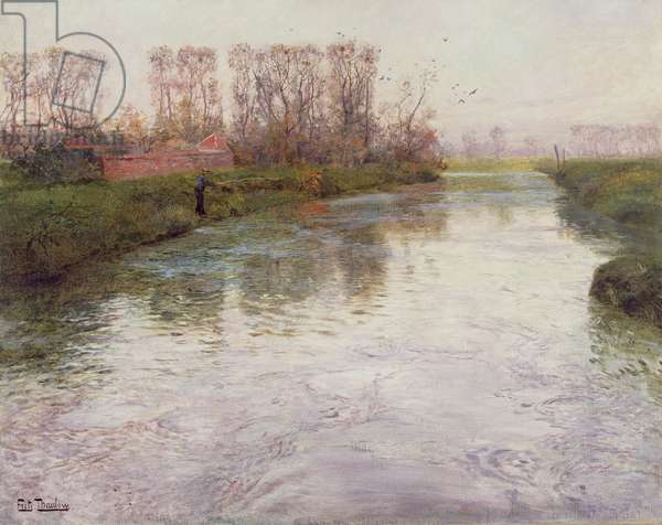 Stream, c.1890 (oil on canvas)