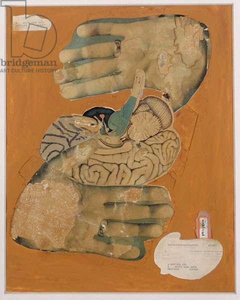 L'Inconscient du Desire (collage and gouache on paper)