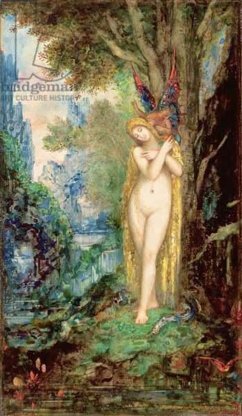Eve, c.1880-c.1885 (w/c & gouache on paper)