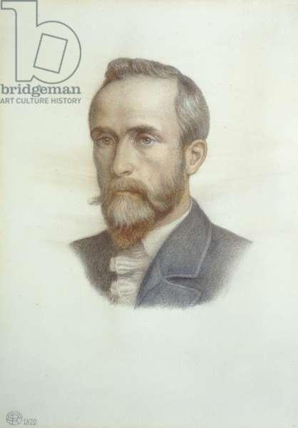 Portrait of Frederick Richard Leyland, 1879 (coloured chalks on paper)