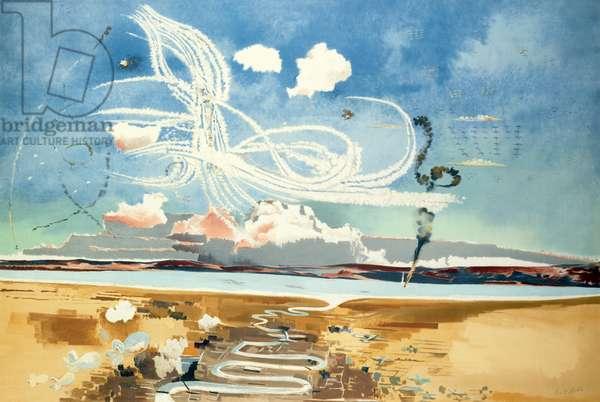 Battle of Britain, 1941 (colour litho)