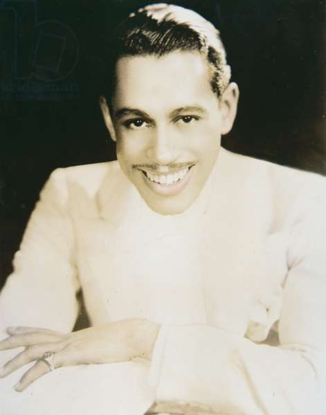 Cab Calloway (1907-94) (b/w photo)