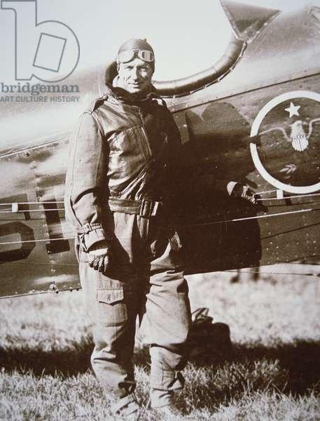 General William (Billy) Mitchell, 1920s (b/w photo)