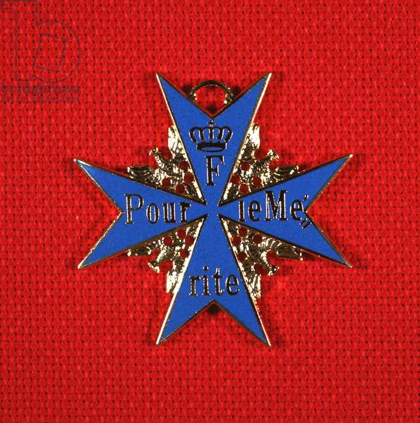 Military decoration 'Pour le Merite' or the 'Blue Max', 1914-18 (metal)