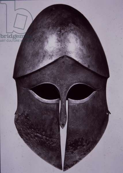 Corinthian-style helmet, c.500 BC (metal)