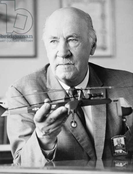 Igor Ivanovich Sikorsky (b/w photo)