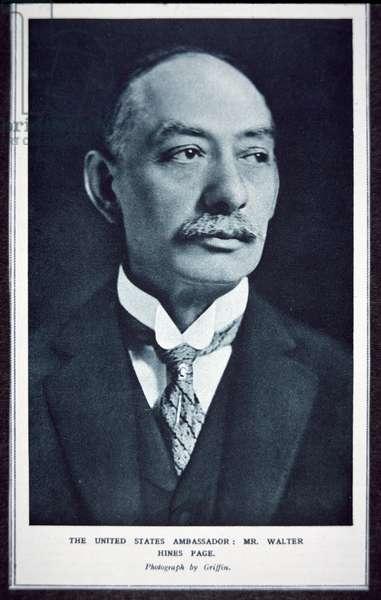 Walter Hines Page (1855-1918) (b/w photo)