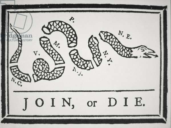 Join, or Die (litho)