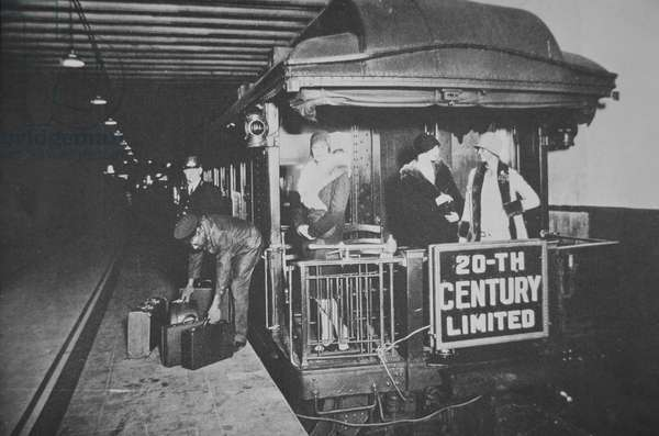 'The Twentieth Century Limited', 1925 (b/w photo)