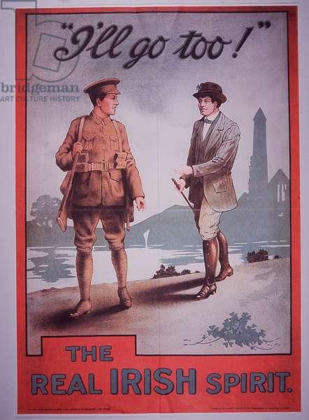 The Real Irish Spirit, 1914 (colour litho)
