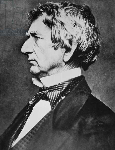 William Henry Seward (1801-72) (b/w photo)