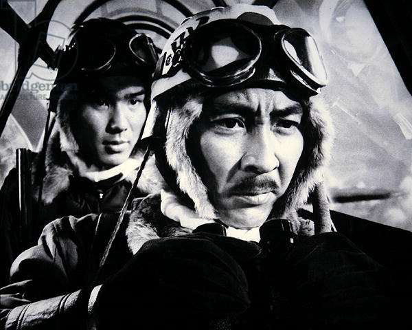 Still from the film 'Tora!Tora!Tora!', 1970 (b/w photo)