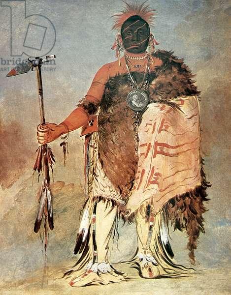Big Elk, 1832 (oil on canvas)
