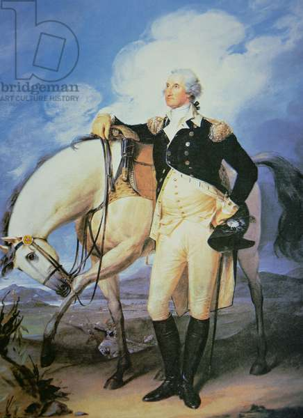 George Washington (1732-99) (colour litho)
