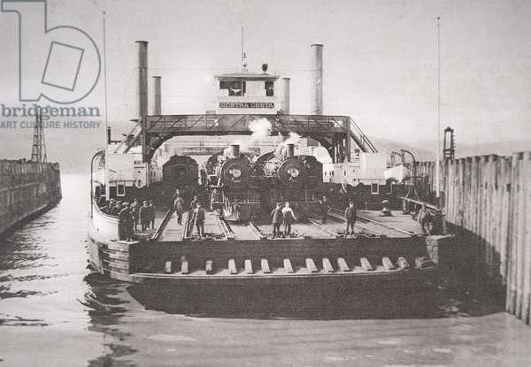 The Contra Costa Ferry, c.1920 (b/w photo)