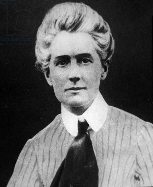 Nurse Edith Cavell (b/w photo)