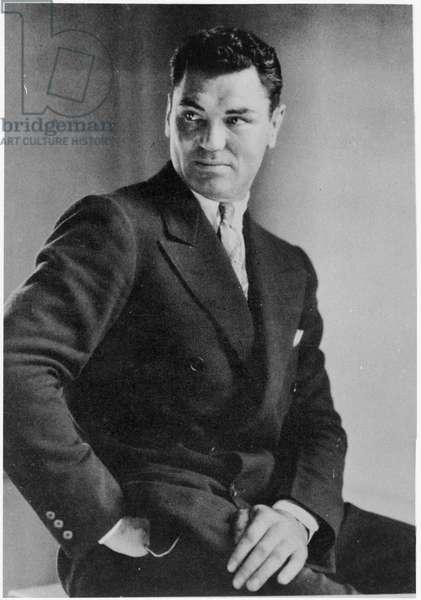 Jack Dempsey, 1926 (b/w photo)