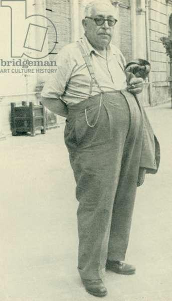 Don Calogero Vizzini (b/w photo)