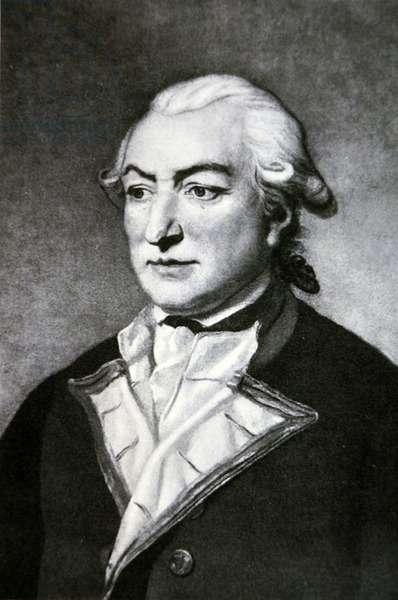 Captain Sir Richard Pearson (litho)