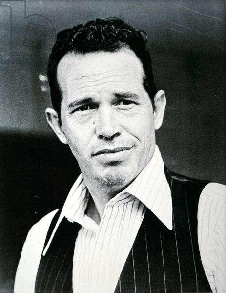 Warren Oates (1928-82) in the title role of 'Dillinger', 1973 (b/w photo)