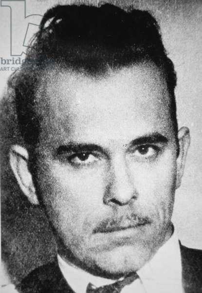 John Dillinger, 1934 (b/w photo)