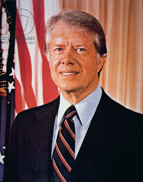 James Earl 'Jimmy' Carter (b.1924) c.1977 (photo)