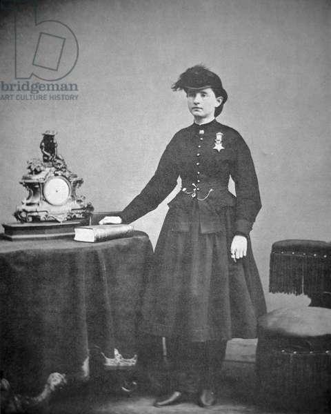 Dr. Mary Edwards Walker (1832-1919) (b/w photo)