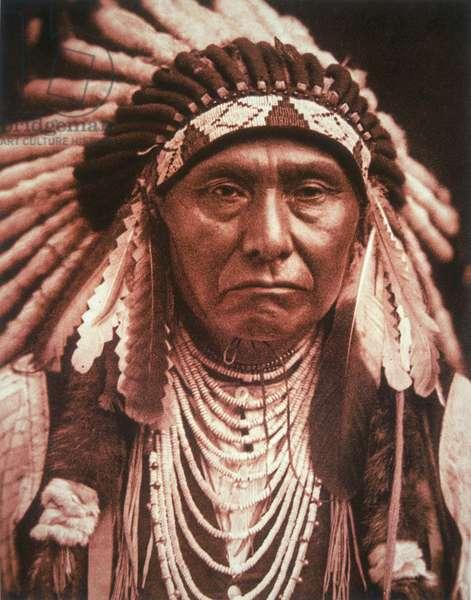 Chief Joseph (1840-1904) c.1903 (b/w photo)