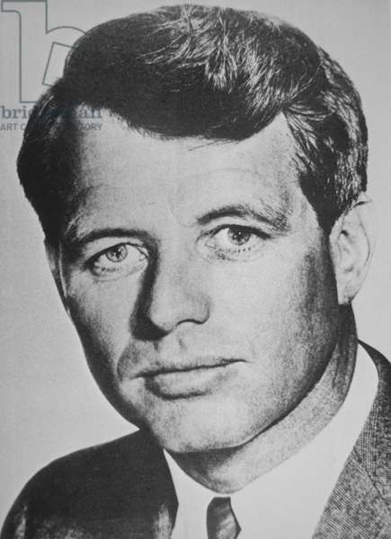 Robert F. Kennedy (b/w photo)