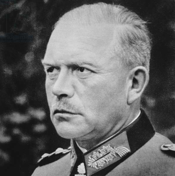 General Heinz Guderian, 1939-45 (b/w photo)