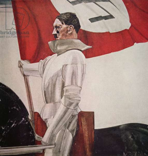 The Standard Bearer, 1936 (oil on canvas)