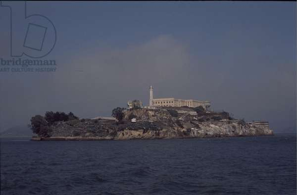 Alcatraz Prison Island, San Francisco, California, USA, 1992 (photo)