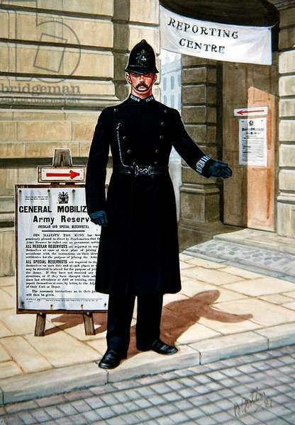 A Constable of 1914, 1987 (colour litho)
