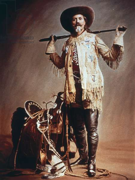Buffalo Bill Cody (1846-1917) (photo)