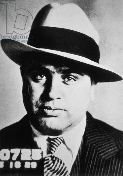 Al Capone, 1929 (b/w photo)