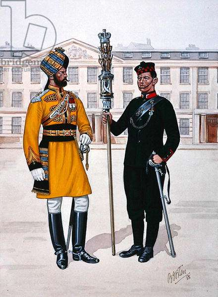 Uniforms of the British Empire, 1997 (colour litho)