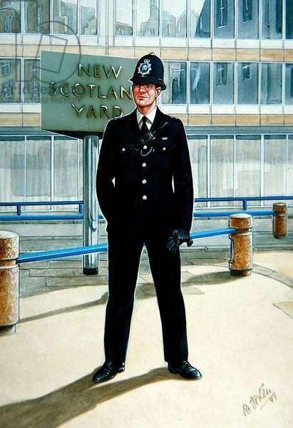 A Constable of 1987, 1987 (colour litho)