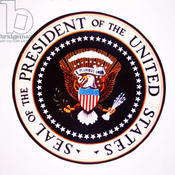 The Seal of the President of the United States (colour litho)