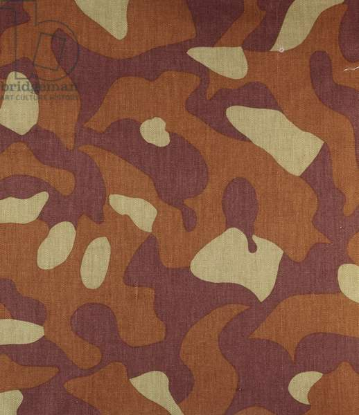 Finnish camouflage pattern, 1960s (textile)