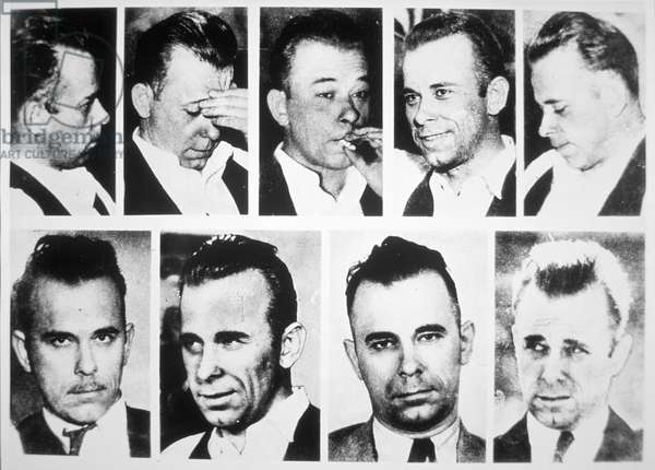John Dillinger (b/w photo)