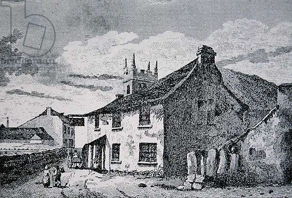 The First and Last Inn, Land's End, Cornwall, 1826 (litho)