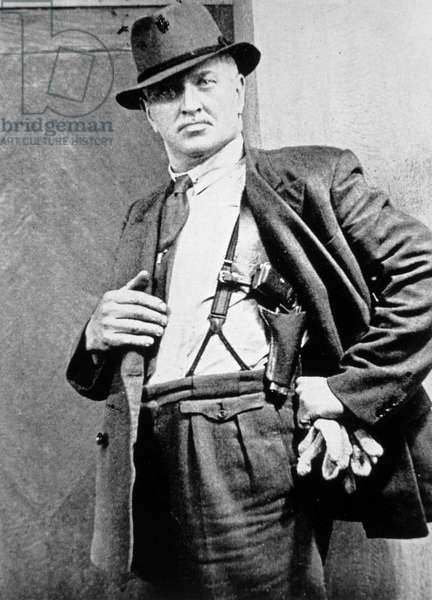 New York Police Detective, c.1920 (b/w photo)