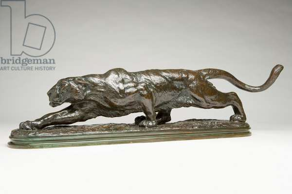 Stalking Panther (also Prowling Panther) 1891-92 (bronze)